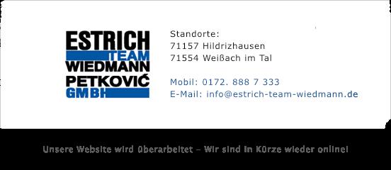 Estrich Team Wiedmann